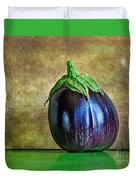 Eggplant Duvet Cover