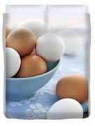 Eggs In Bowl Duvet Cover
