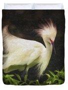 Egret 12 Duvet Cover