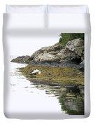 Egrets Duvet Cover