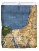 Egypt And The Holy Land Duvet Cover