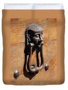 Egyptian Door Knocker Duvet Cover