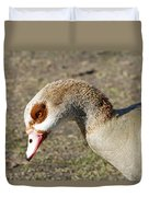 Egyptian Goose Profile Duvet Cover
