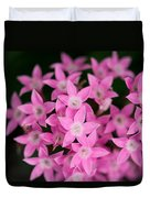 Egyptian Star Flowers Or Penta Duvet Cover