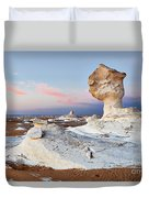 Egytians White Desert Duvet Cover