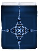 Eiffel Art 35 Duvet Cover