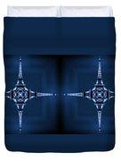 Eiffel Art 35a Duvet Cover