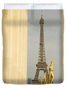 Eiffel Tour Paris Duvet Cover