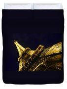 Eiffel Tower Paris France Side Duvet Cover