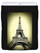 Mighty Eiffel Tower Duvet Cover