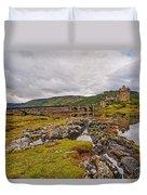 Eilean Donan Castle Dornie Duvet Cover