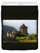 Eilean Donan Castle In Kyle Of Lochalsh Duvet Cover