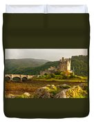Eilean Donan Castle Scotland Duvet Cover
