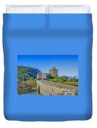 Eilean Donan Castle Walkway Duvet Cover