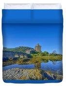 Eilean Donan Reflections Duvet Cover