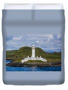 Eilean Musdile Lighthouse Duvet Cover