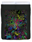 Einsteins Exploding Head Duvet Cover