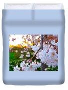 Einstein's Blossoms Duvet Cover