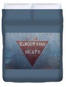Ejection Seats Duvet Cover