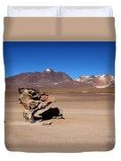 El Arbol De Piedra Bolivia Duvet Cover