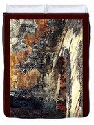 El Morro Arch With Border Duvet Cover