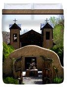 El Santuario De Chimayo Duvet Cover