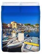 Elba Island - Marina Di Campo Duvet Cover