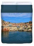 Elba Island - Portoferraio  Duvet Cover