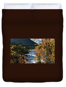 Elbow River View Duvet Cover