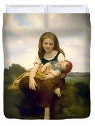 Elder Sister Duvet Cover