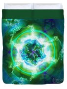 Electric Attraction Duvet Cover