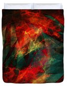 Electric Dreams Of The Ancients Duvet Cover
