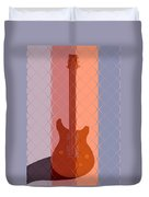 Electric Guitar Solo Duvet Cover