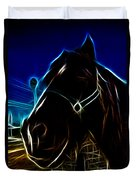 Electric Horse Duvet Cover