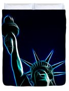 Electric Liberty Duvet Cover