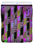 Electric Magenta Duvet Cover