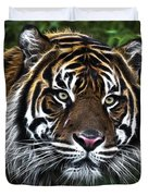 Electric Tiger Duvet Cover