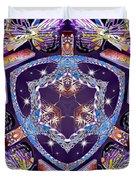 Electric Vortex Duvet Cover