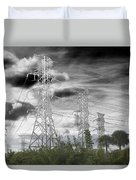 Electrified Duvet Cover