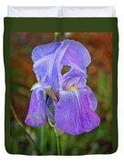 Elegant Iris Duvet Cover