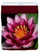 Elegant Lotus Water Lily Duvet Cover