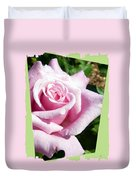 Elegant Royal Kate Rose Duvet Cover by Will Borden