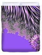 Elegant Tentacles Purple And Lilac Duvet Cover