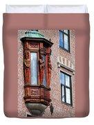 Elegant Window In Bergen Duvet Cover