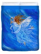 Elemental Earth Angel Of Wind Duvet Cover