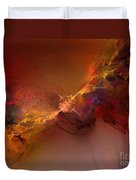 Elemental Force-abstract Art Duvet Cover