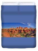 Elephant Canyon Panorama Duvet Cover