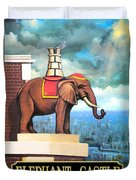 Elephant Castle Duvet Cover