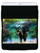 Elephant - Featured In Comfortable Art- Wildlife- And Nature Wildlife Groups Duvet Cover