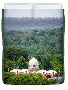 Elephant House At Cincinnati Zoo And Botanical Garden Duvet Cover by Paul Velgos